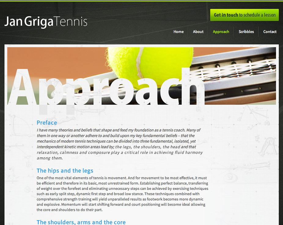 Jan Griga Tennis