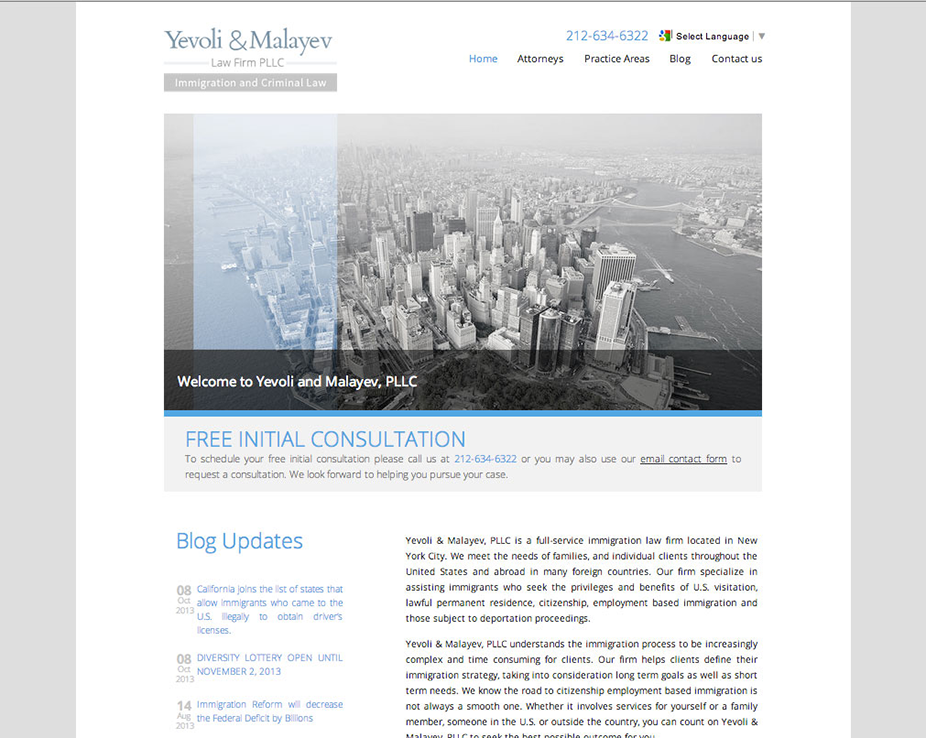 Yevoli & Malayev Law firm