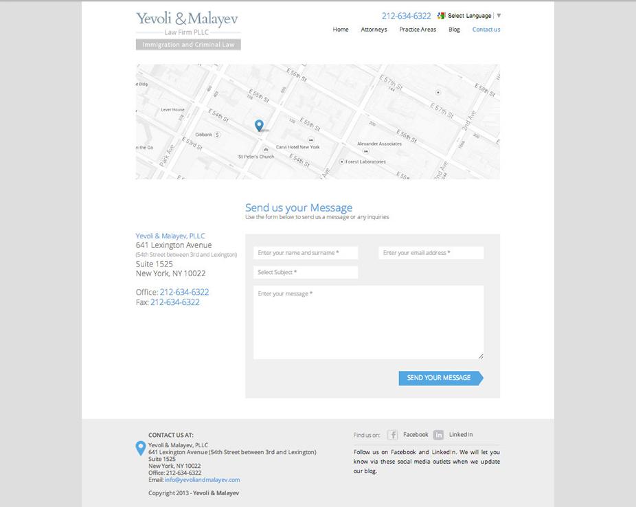 Yevoli & Malayev Law firm