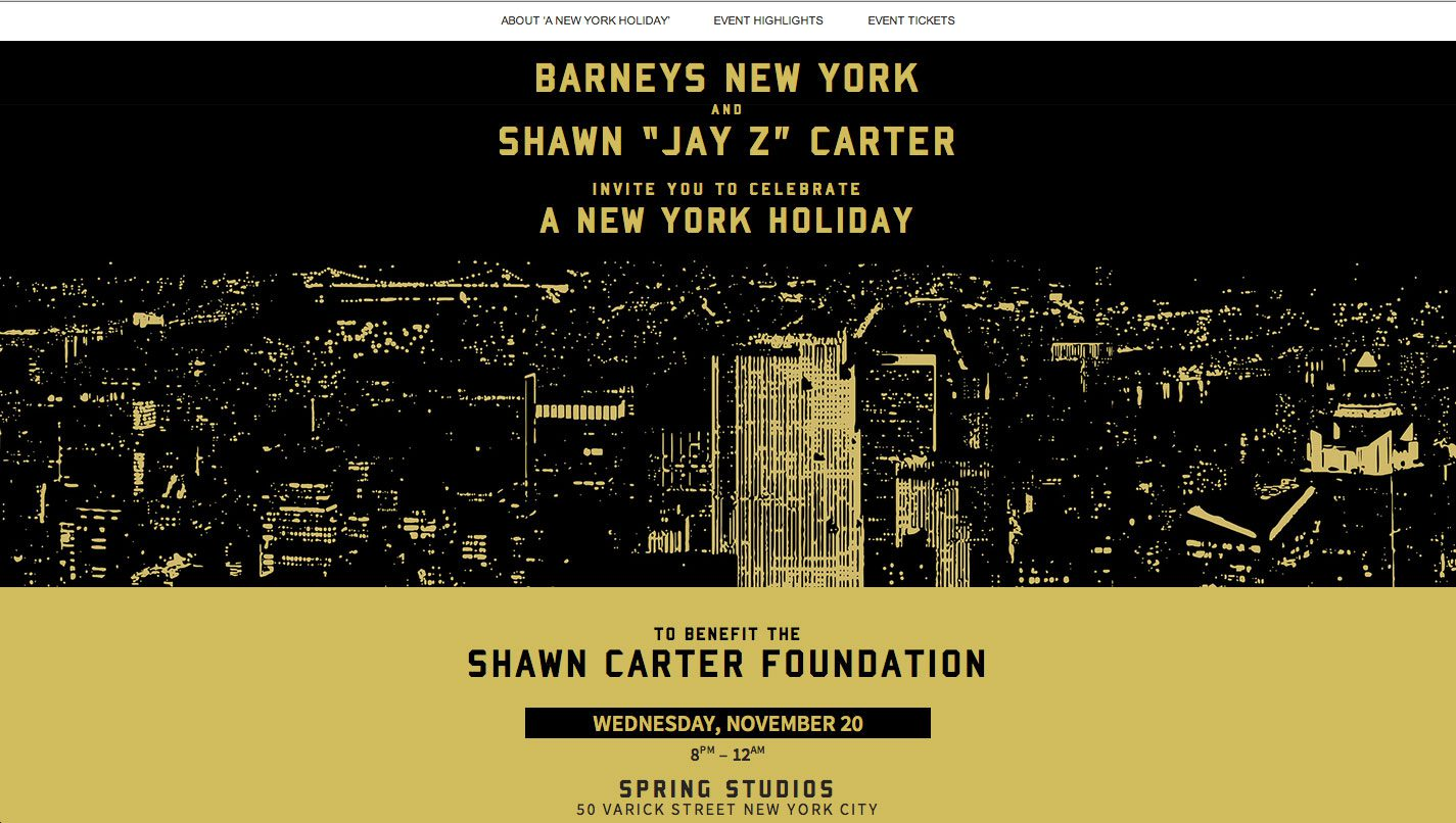 Shawn Carter Foundation Event